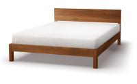 Sahara bed in walnut