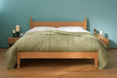 mandalay oak Indian bed