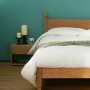 mandalay oak bed
