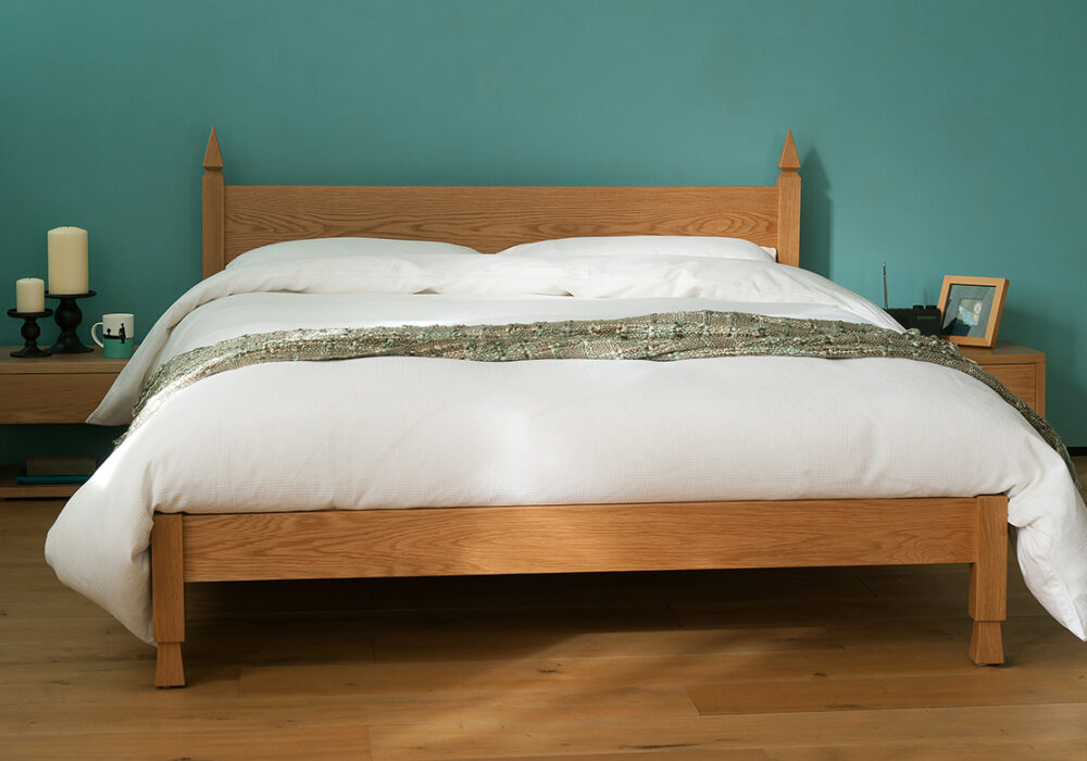 The Mandalay Indian bed, hand made in UK from solid wood