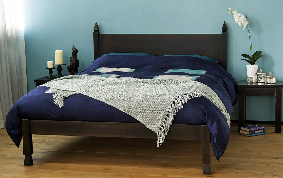 Samarkand Indian style bed