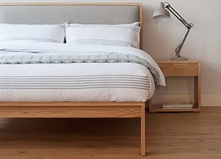 shetland contemporary bed