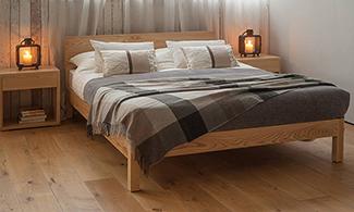 winter bedroom style