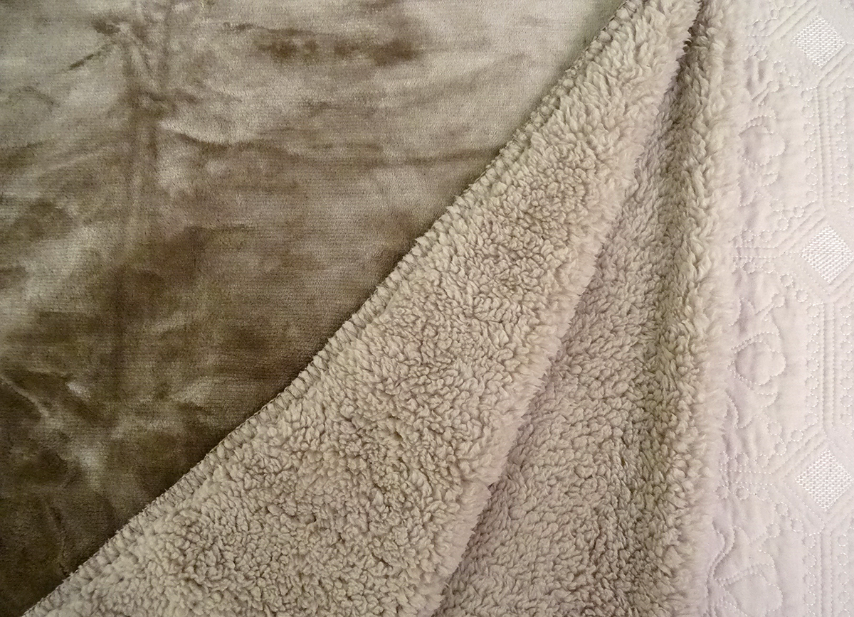 cosy blanket taupe