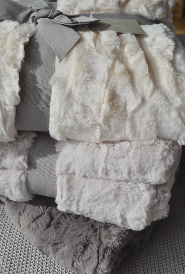 waltons faux fur throws