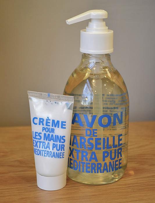 Compagnie de Provence mediterranean sea hand cream & liquid soap