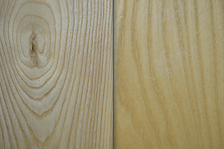 solid ash - natural & clear