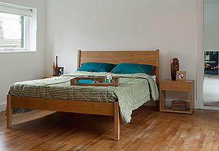 Eden aqua bedspread