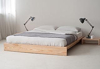 ki & linen bedding