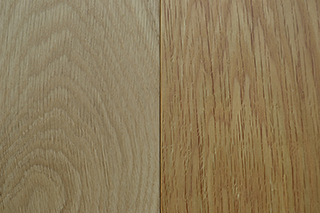 solid oak - natural & clear