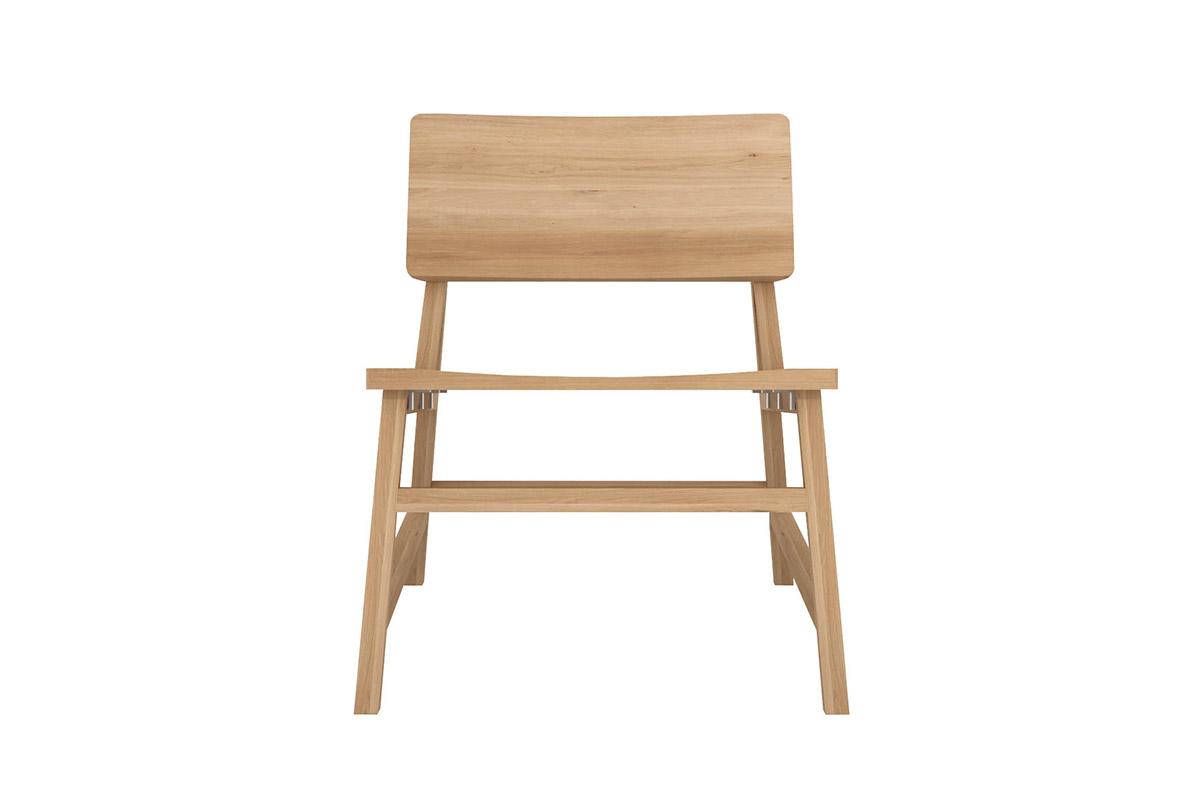 ethnicraft 1200x800 Oak N2 lounge chair