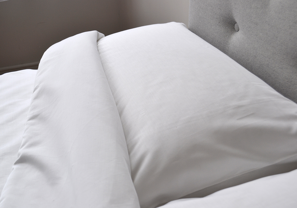 1000 thread count bedding - white