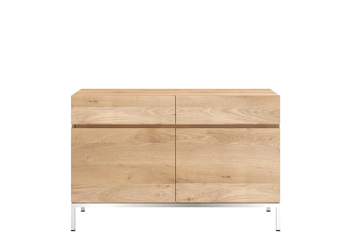 Ethnicraft Ligna - 2 opening doors 2 drawers 110x45x78