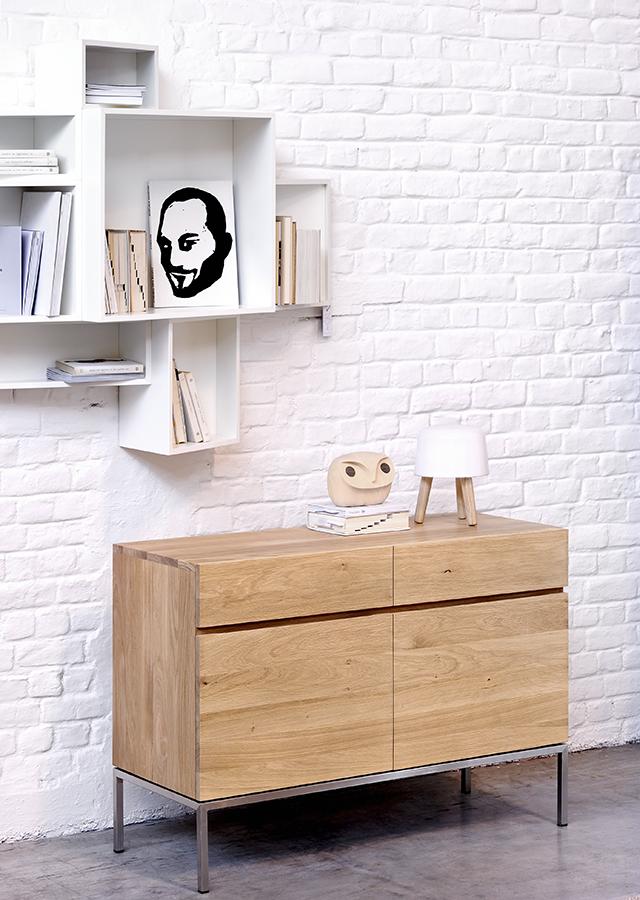 Ethnicraft Ligna small cupboard