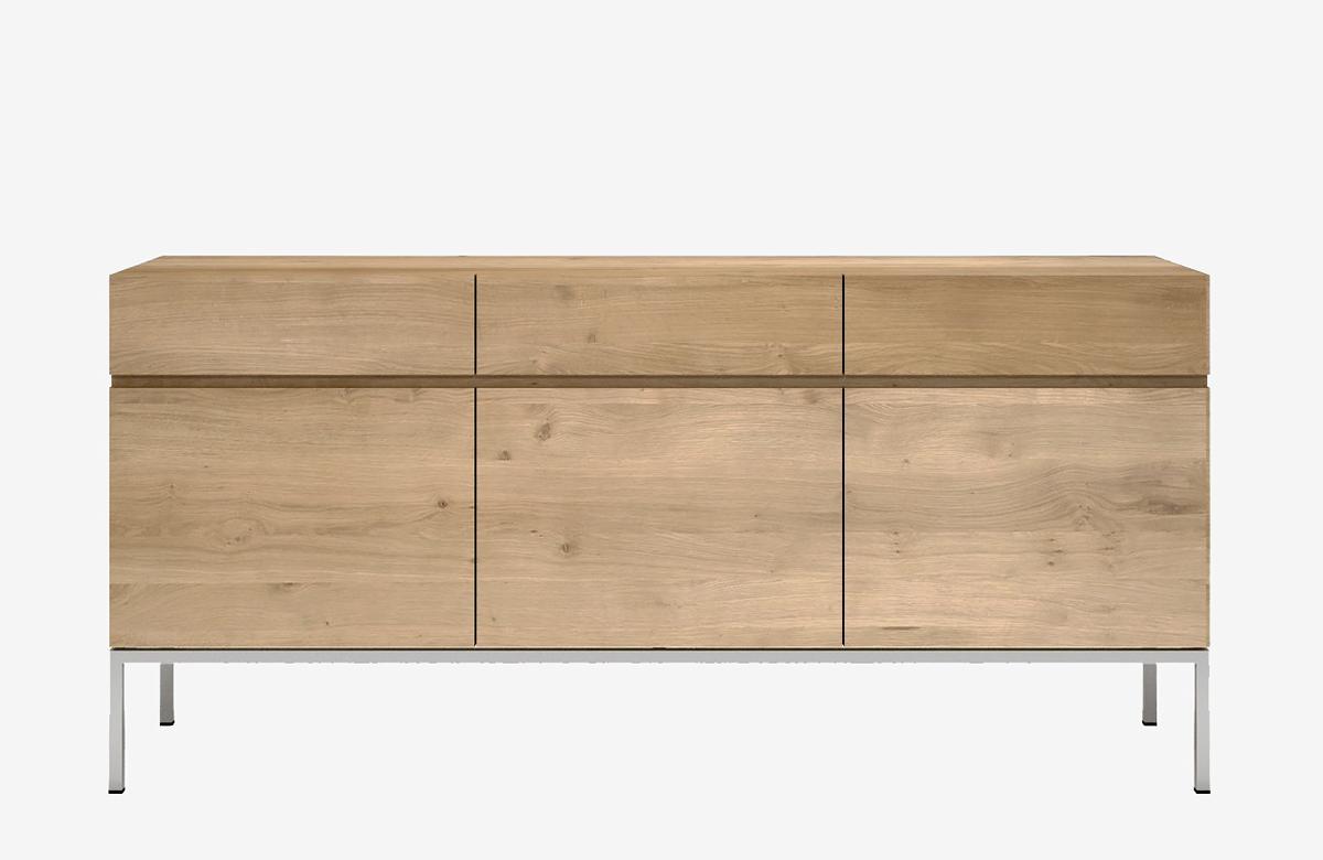 Ethnicraft Ligna sideboard-3 door 3 drawer