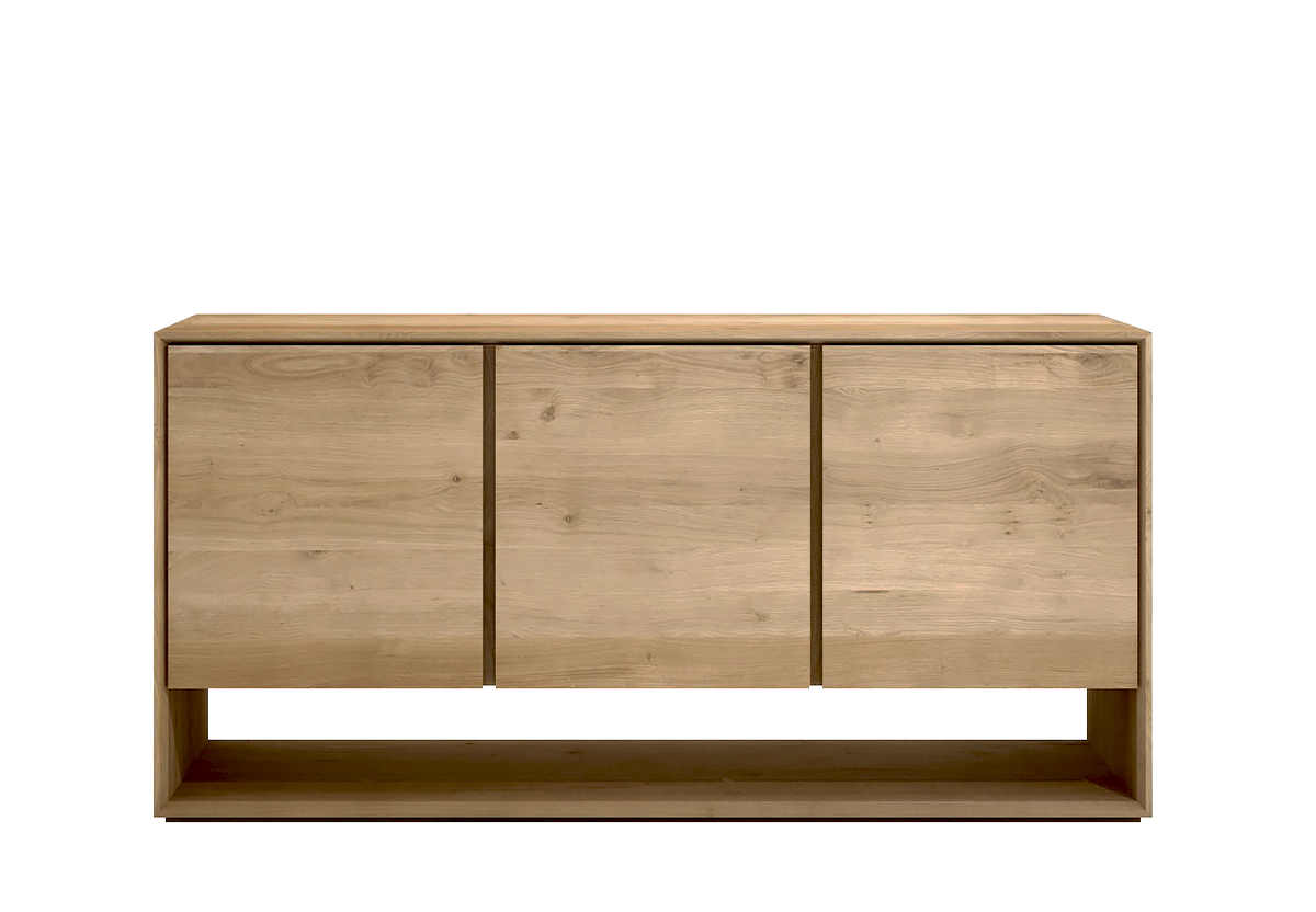 Ethnicraft Nordic oak cupboards