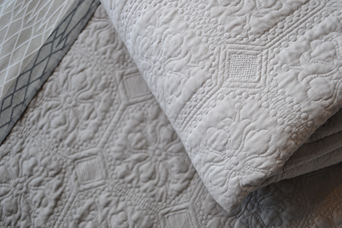 putty & stone - classic quilted bedspreads