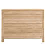 Ethnicraft Azur oak chest of drawers - 3 drawers