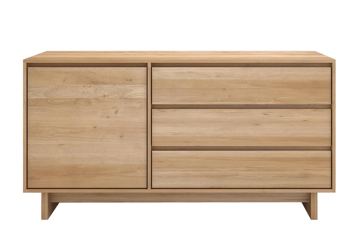 EthnicraftEthnicraft oak wave sideboard - 51450