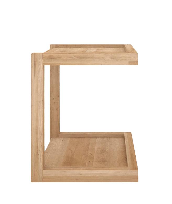 Ethnicraft oak_frame_side table