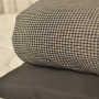 checker duvet with 1000TC duvet cover