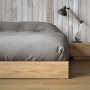 Ki bed with Madra nightstand