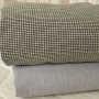 herrinbone grey and checker duvet covers
