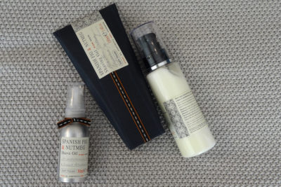 bath house - spanish fig shave set