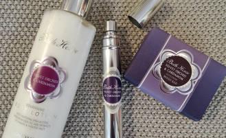 bath house velvet orchid scent set