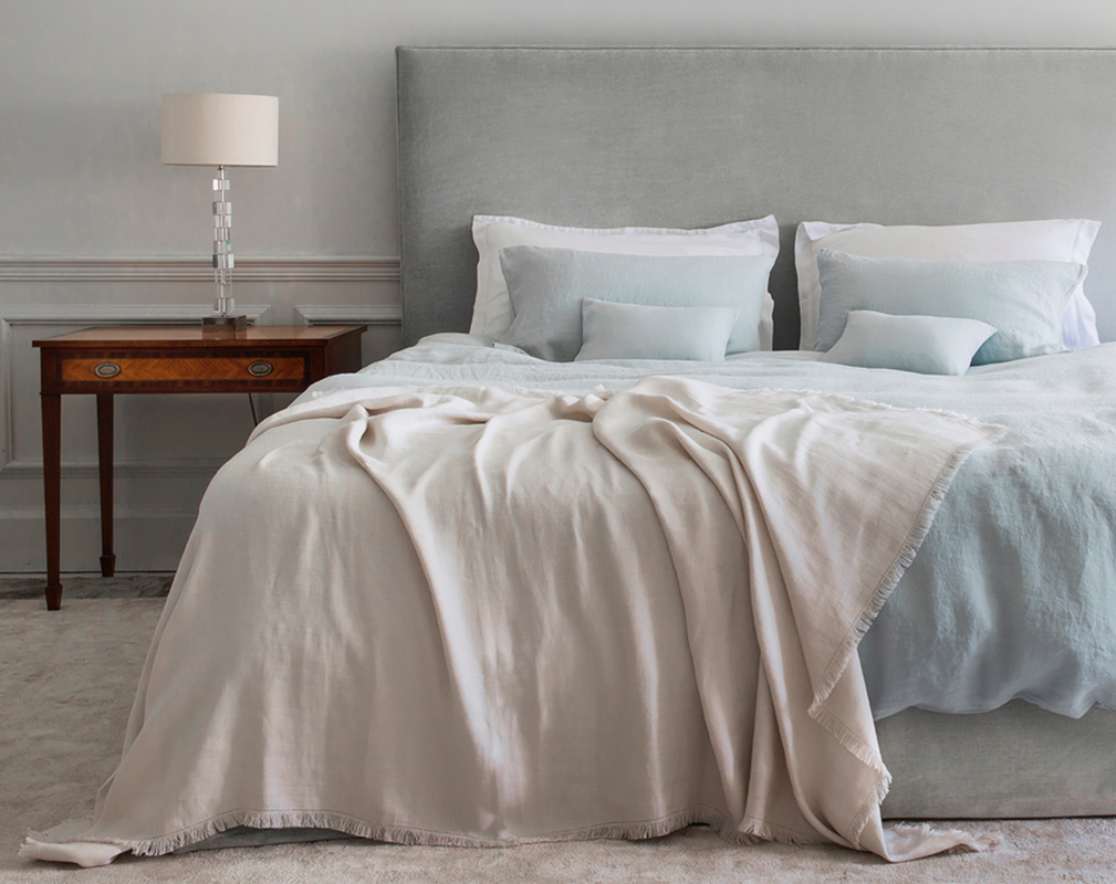 Completely new Linen Bedding | Relaxed Bedroom Looks | Natural Bed Co KB47