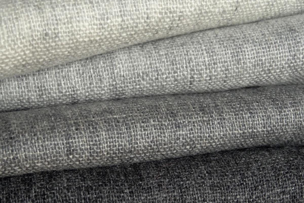 cashmere scarves - greys