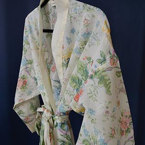 Flora - Cotton Dressing Gown