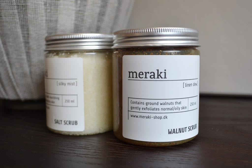 Meraki body scrubs