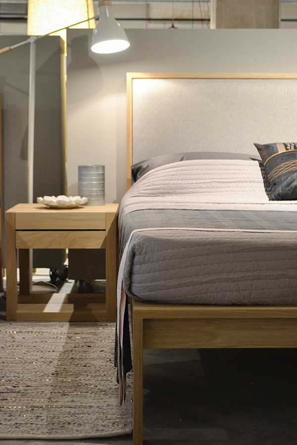 blog - new store - Sheffield with Shetland wooden bed on display