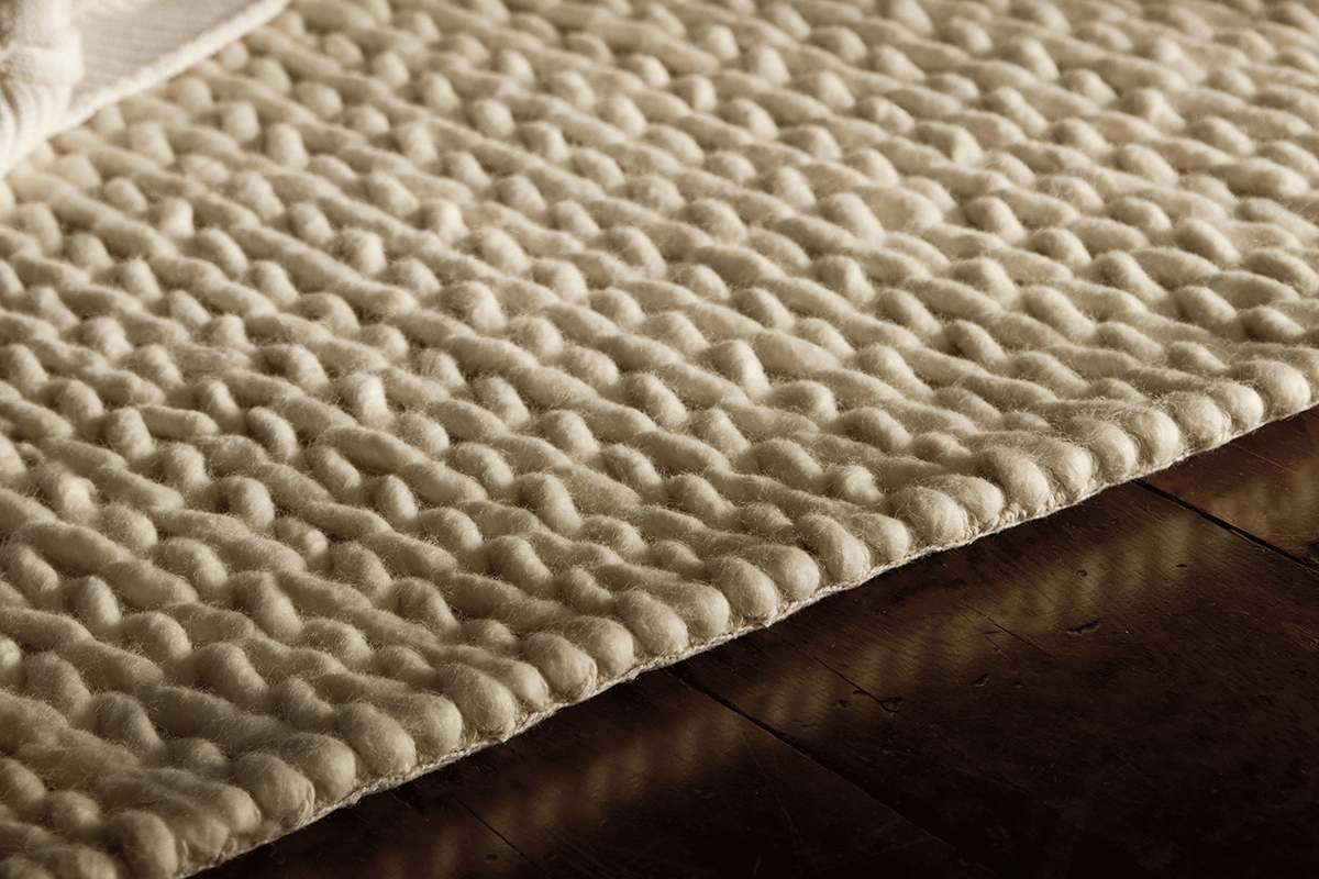 Fusion Modern Handwoven Rug Natural Bed Company