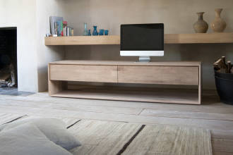 ethnicraft Oak Nordic TV cupboard