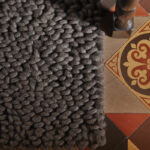 Union - fossil - modern wool rugs