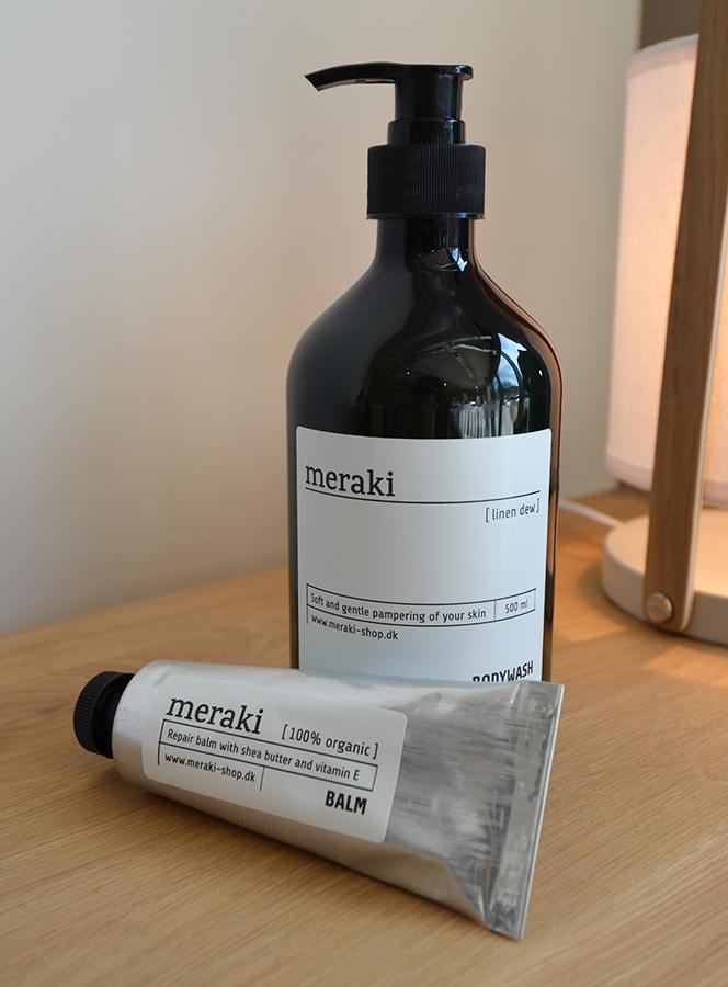 meraki body wash and balm