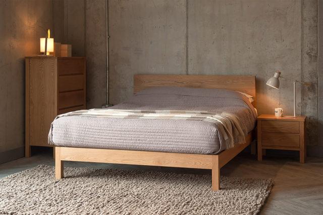 Solid Oak Shaker Style Bedroom Furniture