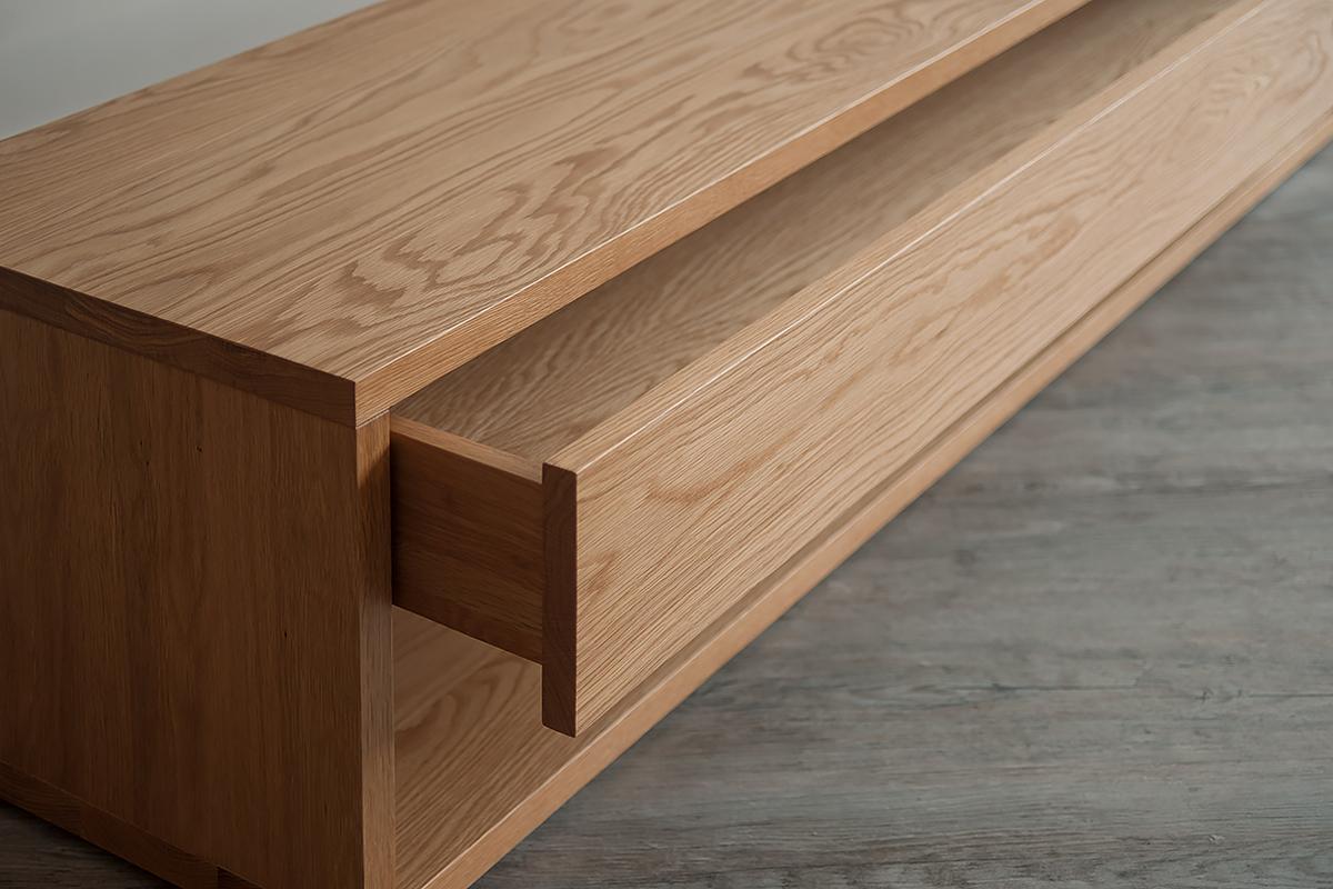 Black Lotus Oak End Of Bed Drawer Unit Natural Bed Company
