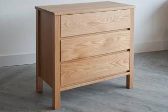 shaker 3-drawer-chest