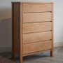 shaker 5-drawer chest