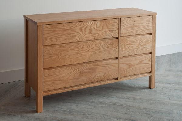 shaker 6-drawer chest