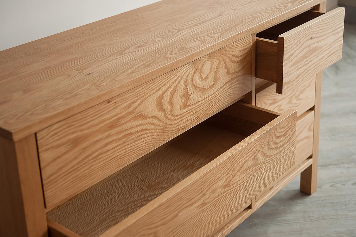 shaker 6-drawer-detail