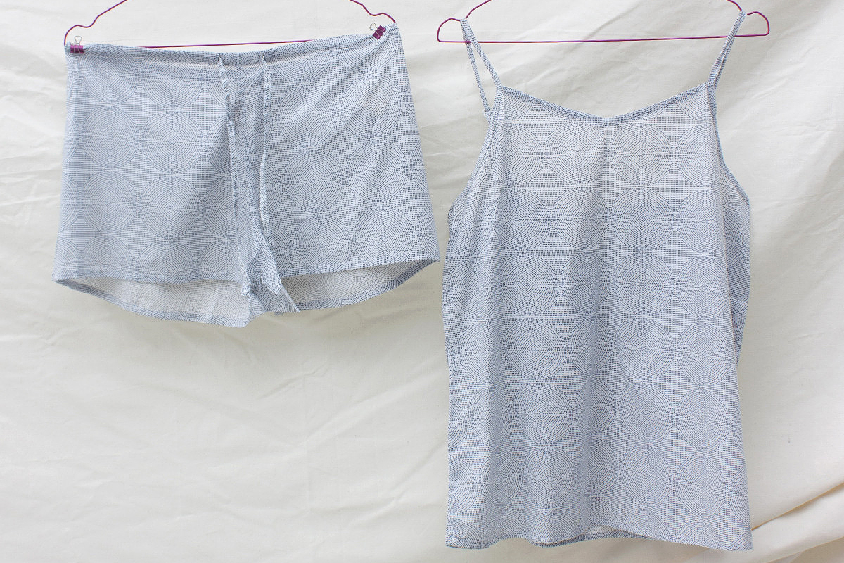 Cotton Camisole & Shorts set