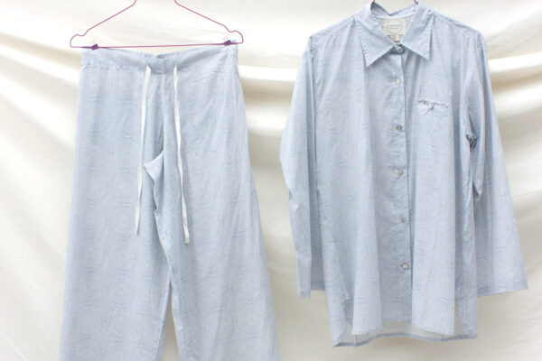 soft cotton pyjamas - spirals