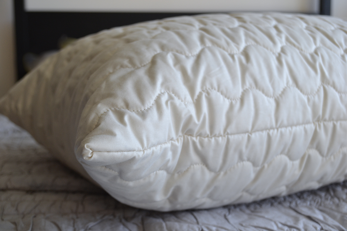 organic kapok filled pillow