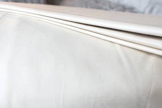organic cotton bedding sateen-detail