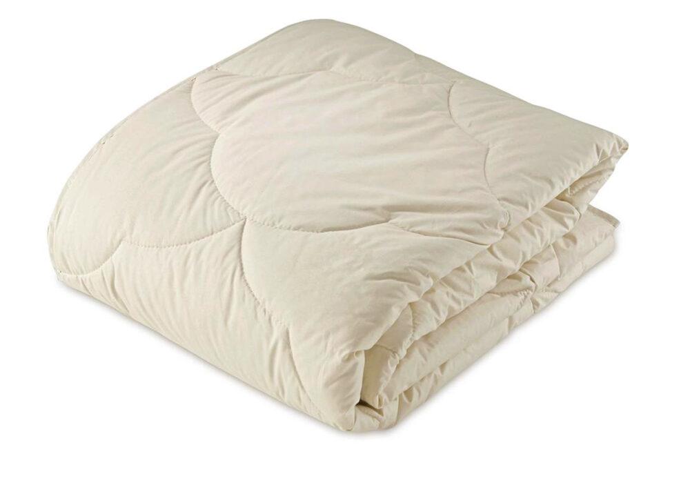 GOTS and Soil Association Certified 100% organic cotton-filled duvet suitable for Vegans