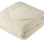 GOTS and Soil Association Certified 100% organic cotton-filled duvet suitable for Vegans